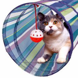 Складной туннель для кошек и небольших собачек