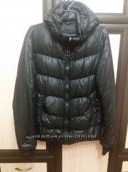 Легкая куртка пуховик Cap, черная, L