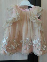 Нарядное платье 9-12, 12-18, 18-24
