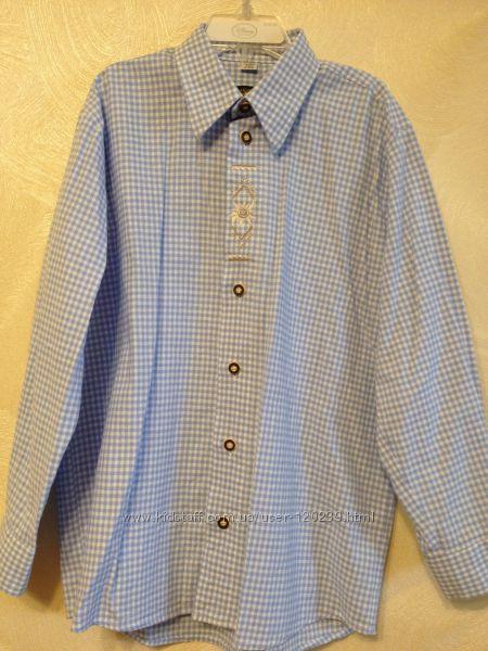 Рубашка хлопок C&A 134-140, б-у