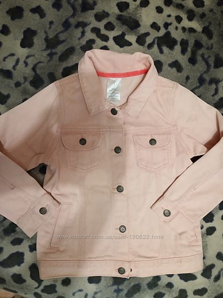 Пиджак котоновый для девочки
