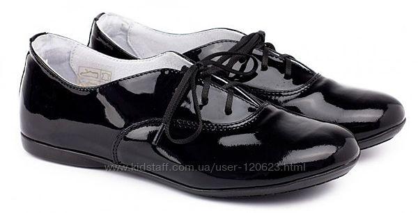 Кожаные лаковые туфли Braska размер 29