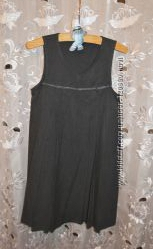 Школьный сарафан-платье George р. 7-8 лет 122-128 см.