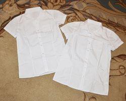 Рубашки школьные для девочки F&F р. 13-14 лет 158-164 см