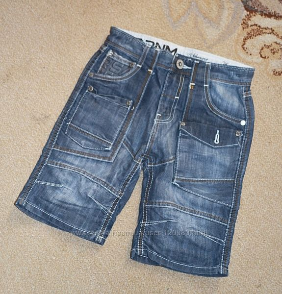 Шорты джинсовые Matalan р.8 лет 128 см