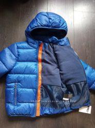 Куртка НМ, деми, зима, 92,  110 , черная и голубая