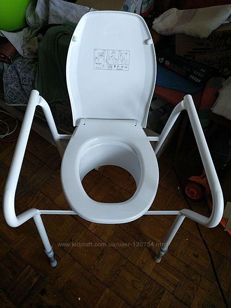 Туалет для инвалидов, крышка на унитаз,  Etac, Швеция