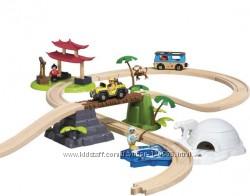 Деревянная железная дорога со звуками PLAYTIVE JUNIOR Чудеса света