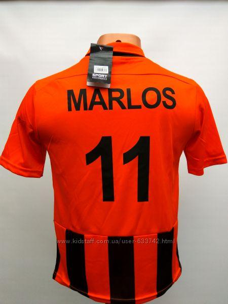 Футбольная форма детская Шахтер Marlos черно-оранжевая