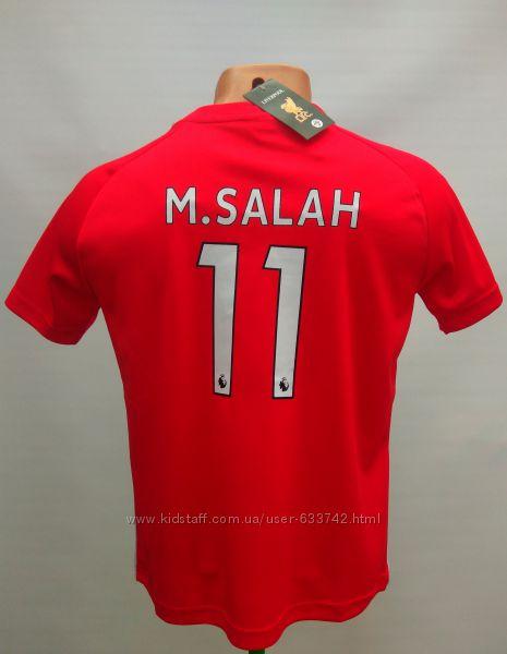 Футбольная форма детская Liverpool Salah 11 сезон 2018-19 года