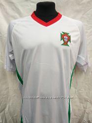 Футбольная форма взрослая сборная Португалия белая