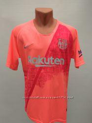 Форма в стиле Nike взрослая Barcelona резервная розово-красная&nbspсезон 2019