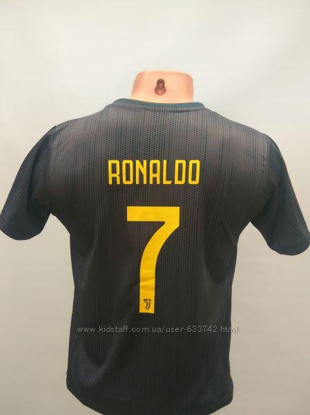 Распродажа футбольная форма детская Juventus Ronaldo сезон 2018-19 черно