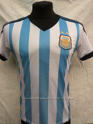 Футбольная форма взрослая сборная Аргентина бело-голубая-черная