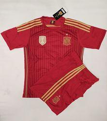 Футбольная форма детская сборная Испании бордовая