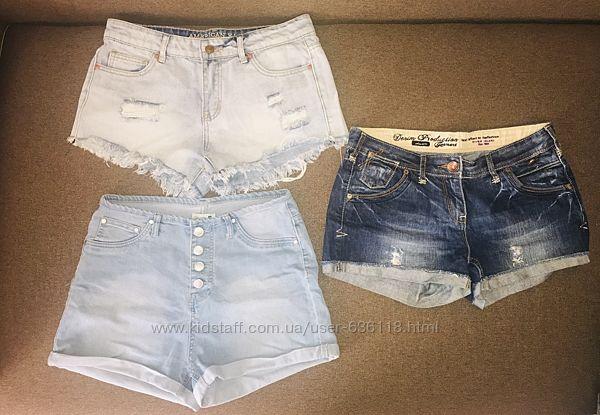 Шорты женские джинс размер 46-48