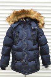 Куртка зимняя на холлофайбере для мальчиков. Размер 12, Фирма GRACE