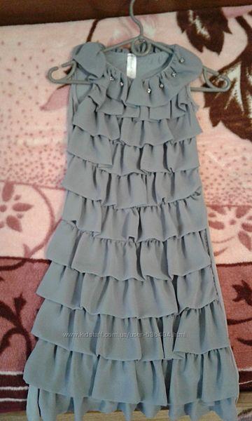 Платье нарядное 9-12 лет