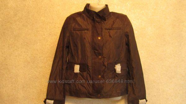 Куртка ТСМ с кожаной отделкой, р. М