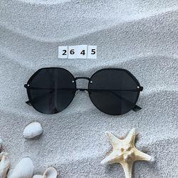 Солнцезащитные очки черные  к.2645