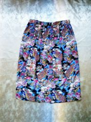 красивая юбка, вискоза, принт Pret a porter