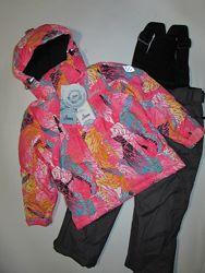 Детский термо горнолыжный костюм комбинезон DISUMER для девочек 122