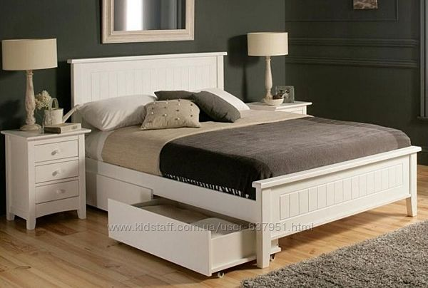 Амур - двуспальная кровать из дерева, от производителя