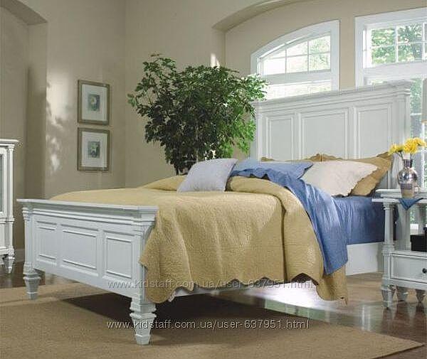 Аристократ - двухспальная, двухместная кровать из цельного массива дерева