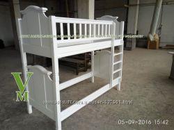 Сабина - двухъярусная кровать от фабрики мебели из массива дерева