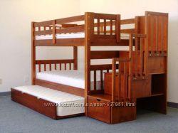 двухъярусная кровать трансформер с ящиками комодами - Даниил
