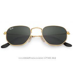 Очки Ray Ban RB 3548N Hexagonal Gold стекло комплект солнцезащитные ... 590a2059c60