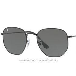 Очки Ray Ban RB 3548N Hexagonal Black стекло комплект солнцезащитные ... b384271be78
