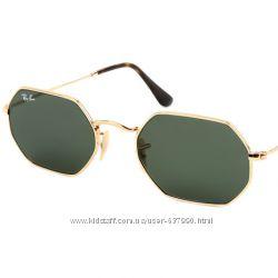 Очки Ray Ban RB 3556N Octagonal стекло комплект солнцезащитные f6979eaef88e2
