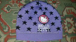 Шапка Hello Kitty на 3 рочки