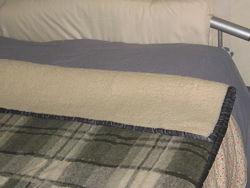 Одеяло антиалергенное шерсть меринос  220х160см