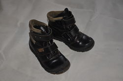 Ботинки кожаные демисезонные 29 размер SHAGOVITA стелька 18, 5 см
