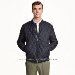 Куртка бомбер H&M с шерстяной нитью М-Л
