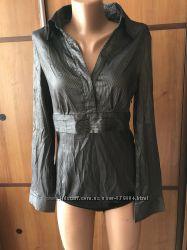 Стильная фирменная боди -блузка-рубашка ICE CREAM
