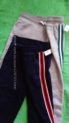 Спортивные штаны утеплённые 9-10 лет