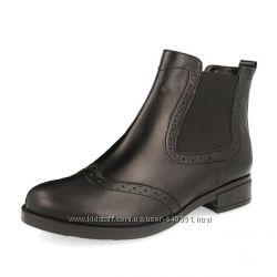 Ботинки Челси женские кожаные весна весенние осень осенние ботильоны новые