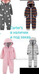 Комбинезон ромпер флисовый Картерс Carter&acutes оригинал
