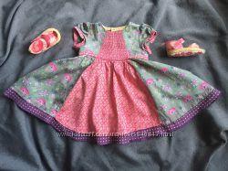 Платье летнее хлопковое 3-6мес. M&S Marks&Spencer