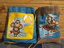 Мішечки, торбинки для подарунків