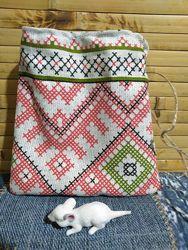 Мешочки для  подарков  с орнаментом
