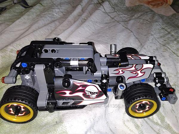 Авто Конструктор JISI Bricks, 170 деталей, инерционный механизм, идеальное