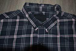 Новая рубашка ф. Lager 157 р. M-L ворот 43 хлопок