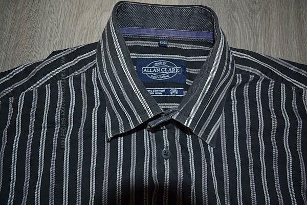Рубашка ф. Allan Clark р. 43/44 XL-XXL хлопок