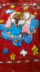 Теплое одеяло детское 110140см