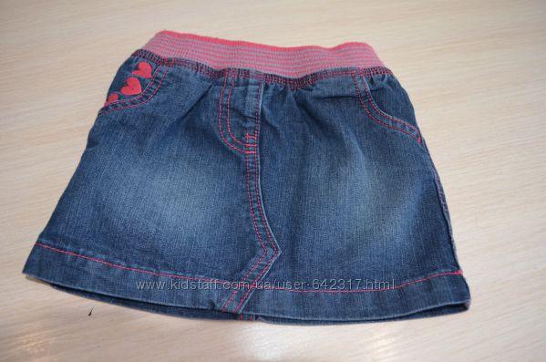 Юбки джинсовые для девочекджордж