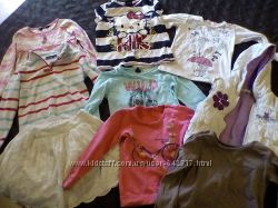 Пакет одежды на девочку 3-4 года